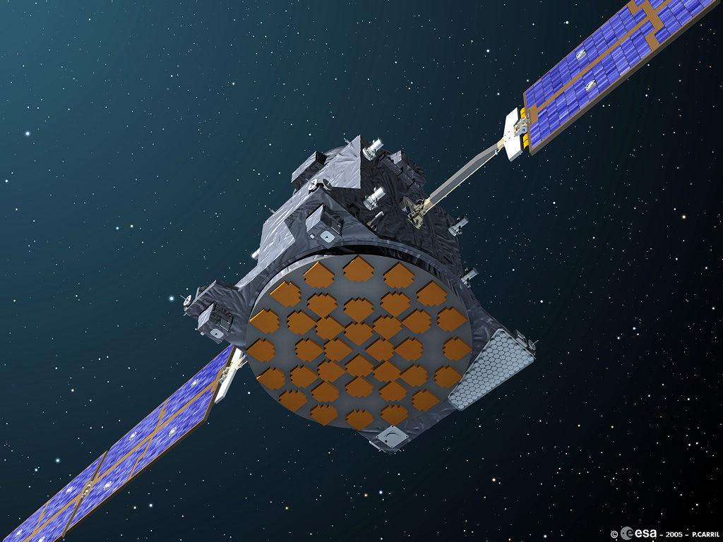 A GIOVE-A Föld körüli pályára állítása